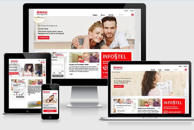 Die neue ÖRAG Homepage